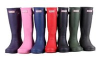 Wholesale Hunter Original Adjustable Women Round Toe Synthetic Green Rain Boot