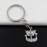 antique viking ring men - Fashion diameter mm Key Ring Metal Key Chain Keychain Jewelry Antique Silver Plated viking ship boat mm Pendant
