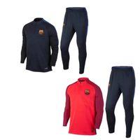 barcelona sportswear - 3A Best quality barcelona soccer tracksuit chandal football Tracksuit training suit skinny pants Sportswear best quality