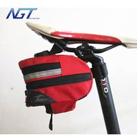 bicycle seatpost sizes - 2 Colors Cycling Bike Top grade Bicycle Saddle back Seat Rear Bag Rainproof Quick Release Seat Seatpost Tools bag GT BG