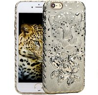 apple cheetah - iPhone s Panther Soft TPU Case Electroplating Cheetahs Pattern Back Cover for iphone s plus with OPP BAG
