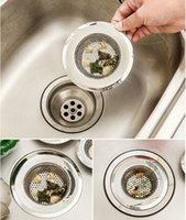 Wholesale Kitchen Drain Sink Strainer Screen Stopper Stainless Steel Home Basket Brand New Good Quality