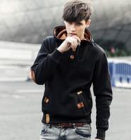 Wholesale NEW brand sports hoodies men fleece Fashion men s warm Hoodies Sweatshirts Suit Hoody jacket colors