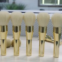Wholesale 2016 Hot Rose Gold Powder Blush Brush Professional Large Cosmetics Makeup Brushes Foundation Make Up Tool