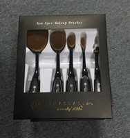 badger cream - 2016 pcst kit New ABH Anastasia Oval Makeup Brush Cosmetic Foundation BB Cream Powder Blush pieces set Makeup Tools DHL Free