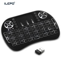 Wholesale i8 wireless keyboard backlight G Mini Keyboard Wireless Backlight Air Touch Backlit LED For Android TV BOXes MXQ Pro K