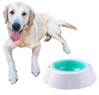 Wholesale Insulation Pet Dog Cat Food Cool Rapid Cooling Bowls Speed Cold Bowls Pet Ice Frosty Bowl