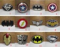 Wholesale New Super Heroes superhero captain America batman Big Belt Buckle Buckles High Quality