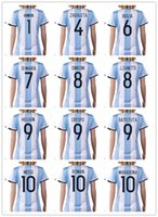 afa soccer - 16 New national team Messi Women Soccer Jersey Thai Quality AGuero Soccer Shirts DI MARIA AFA Womens Football Jerseys