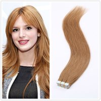 Wholesale Tape Hair Extensions Natural Hair Extensions Silky Brazilian Tape In Adhesive Hair Extensions Tape Skin Weft Multiple Colors