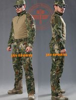 Wholesale Chiefs Rattlesnake Pro BDU combat shirt amp tactical pants in jungle camouflage hunting clothes SKU12050308