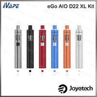 battery child - 100 Original Joyetech eGo AIO D22 XL Kit All in one Stlye With ml Capacity mah Battery Adjustment of Air Inflow Child Lock Kit