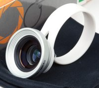 Wholesale Factory price cell phone Circle Clip X wide angel lens macro lens in lens for H8001 lens