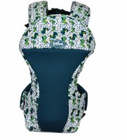 Wholesale 2016 Best Quality America Organic Cotton Baby Carrier Infant Sling Toddler Wrap Rider Canvas Baby Carriage Backpack Suspenders
