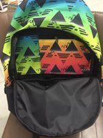 Wholesale 2016 fashionable clover backpack superstar bags high quality schoolbag