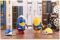 Wholesale Portable Minions spray hand hold mini fan with battery with water tank cool fan usb Rechargeable handheld easy carry fans cooling d design
