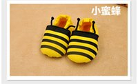 Wholesale 2016 new low to help low elastic tube cartoon toddler shoes for spring and autumn with warm function no lights no sound