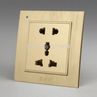ac outlet wiring - Kempinski Luxury Wall Electrical Socket Multifunction Hole Power Outlet AC V mm mm X8 series