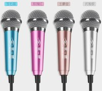aluminum condenser - 2016 new At first glance M1 sing microphone K song condenser mini aluminum universal microphone for smart phones desktop computer
