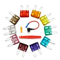 Wholesale Auto Fuse Assortment APM ATM A A A A A A A A A A BoX Tools Kit Car Fuze Types Mini Blade Fuse