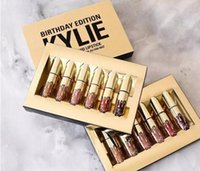 Wholesale 1Set Kylie Jenner Lipkit In LEO Limited Birthday Edition CONFIRMED Matte Lipstick High Quality