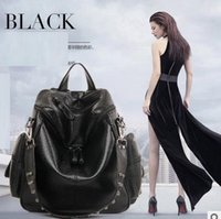 Wholesale Hot Selling new arrival high quality brand new bag lady s women s handbag shoulder bag backpack black grey