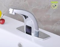 Wholesale The copper family with electric single water faucet Plumbing Hardware washbasin faucet outlet
