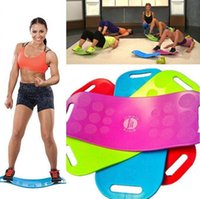 Wholesale 1PCS Simply Fit Board Fitness Equipments Balance Fitness Balance Board Professional Body Shaper Yoga Plate with CD