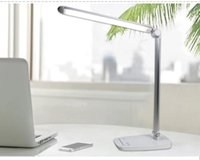 Wholesale Luxury USB Rechargeable LED Eye shield Table Lamp Modes Light Adjustment Creative Folding Lamp for Reading Office Touch switch