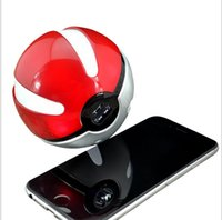 banks pendants - Poke power bank LED light pokeball mAh powerbank poke ball charger with pendant portable charge figure toys for iphone plus note