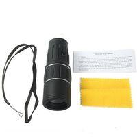 Precio de Lente de enfoque dual-Óptica caza monocular 16x52 dual para los prismáticos ámbito de foco de la lente de zoom óptico de telescopio turismo Viajes