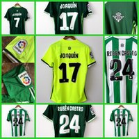 Wholesale Thailand Quality Real Betis home and away Real Betis jersey Betis shirt camiseta de futbol