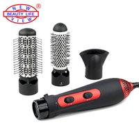 Wholesale V W Hot Air Brush Styler and Hair Dryer Machine Comb in Multifunctional Styling Tools Set Hairdryer EU Standard