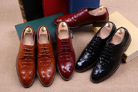 best casual dress shoes - 2016 best selling men s business casual leather shoes men wingtip lace up shoes leisure boom size G323
