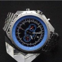 b swiss watches - New Luxury swiss brand high quality floding Mens blue Dial Japan Chronograph Sport Wrist Supersports ISR Men s Watches FLYING B Motors Watch