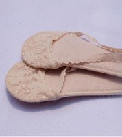 Wholesale The Summer New Explosion Of Sponge Absorbent Cotton Invisible Woman Sling Shoe Sock Pad