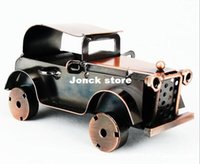 antique car collectibles - Metal car model antique classic car model metal collectibles Q3