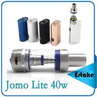 Cheap 100% Original Jomo Lite 40w Jomo 40watt E-cig Box Mod Lite 40w vapor mod kit 3ml Vaporizer VS Kanger Kbox kangertech 0268004