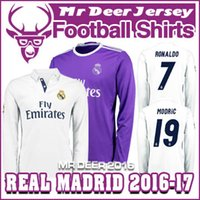 away silver - 2016 Real Madrides RONALDO home away purple long sleeve JAMES BALE