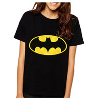batman long sleeve t shirt - Sea Mao Brand Women T shirts printed Batman short sleeve t shirts Stretch Cotton tees Modal tops