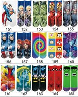 Wholesale 3D Printed Socks styles Unisex Cute Socks Cartoons Halloween Christmas Socks for Kids Men Women s Casual Charactor Socks