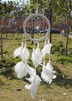 africa decor - Dream Catcher Circular With feathers Wall Hanging Decoration Decor Ornament Gift