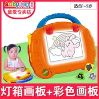 Wholesale AUBAY talented young painter ADI children WordPad baby magnetic pen color graffiti drawing board toy