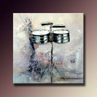 abstract musical art - modern oil paintings handmade acrylic paintings musical instrument oil painting canvas wall art painting for home decoration