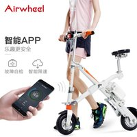 Wholesale Airwheel E6 Folding electric vehicle Adult intelligent electric folding bicycle