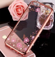 apple iphone manufacturing - Phone64 phone shell protective shell plating TPU drilling all inclusive soft shell drop resistance diamond manufacturing
