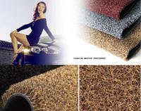 Wholesale Car floor mats green odorless spinning mats car mats lawn silk suit A