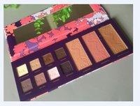 Cheap Hot Make up Sets Tarte High Performance Naturals empower flower 8 color eye shadow +3 color bronzing powder