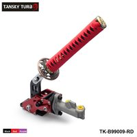 Wholesale TANSKY Samurai Sword Type Universal Hydraulic Handbrake ebrake Racing Parking Emergency Brake Lever COLOR BLACK RED PURPLE TK B99009