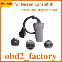auto consult - Consult III for Nissan Without Bluetooth Consult Tool Professional OBD2 Scan tool Consult3 Interface Auto Diagnostic Scanner